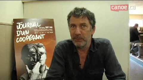 Journal d'un coopérant - Le réalisateur Robert Morin parle des thèmes qu'il aborde dans son dernier long métrage.