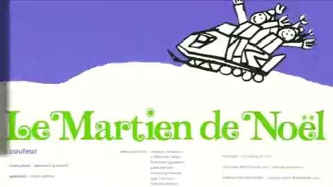 Le Martien de Noël (Bernard Gosselin, 1971)