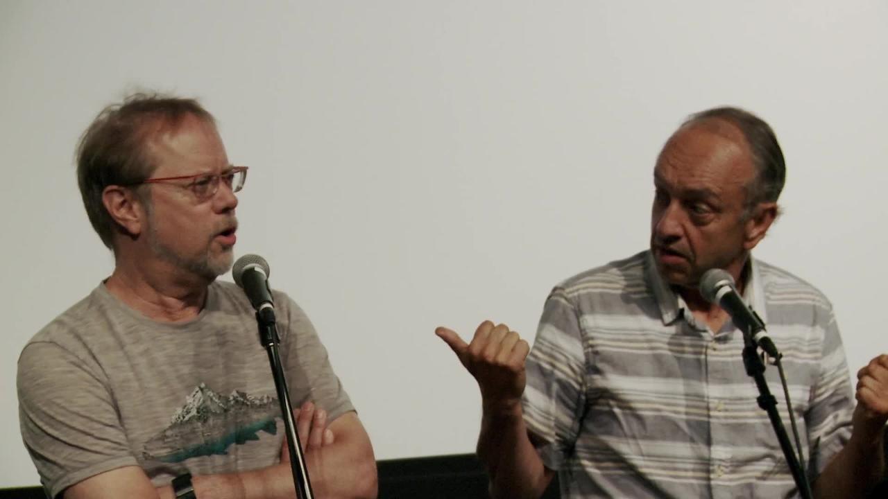 Marcel Leboeuf et Denis Bouchard parlent du tournage de Rafales (1990)