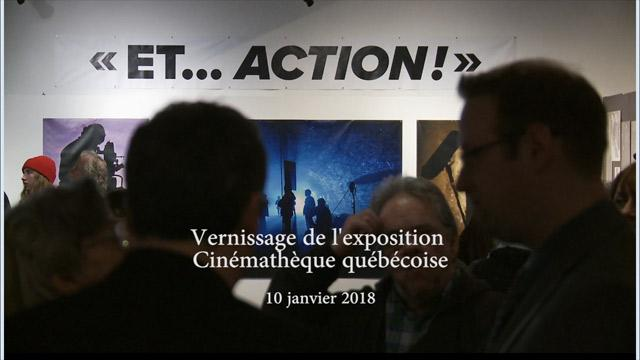 Vernissage de l'exposition Nos photos de tournage