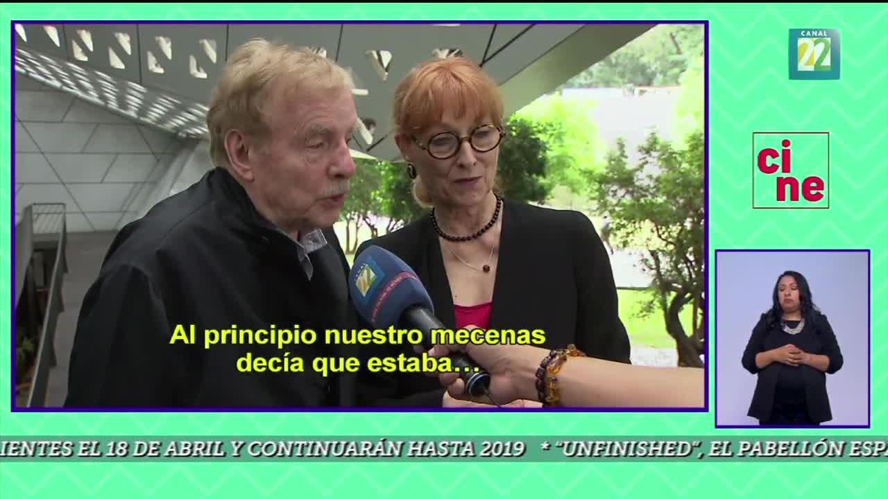 Entrevue au Canal 22 (Mexico) avec Marie-José Raymond et Claude Fournier